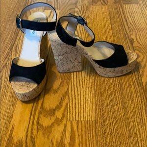 Steve Madden platform sandals (leighton)